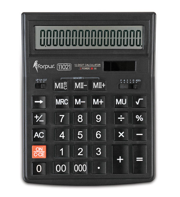 Calculator, 16 digits