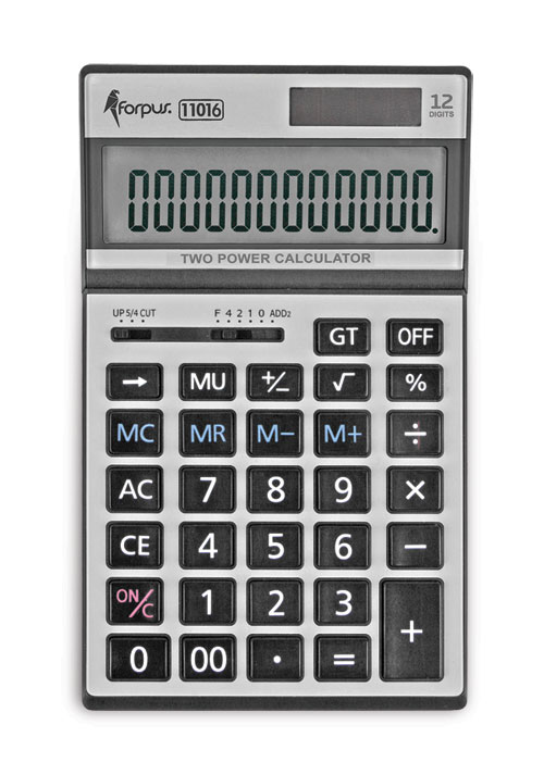 Calculator, 12 digits